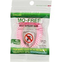 MO FREE INSECT REPELLENT BAND ΡΟΖ