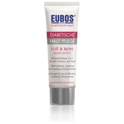 Eubos Diabetic Skin Care Foot & Leg Multi-Active, 100ml