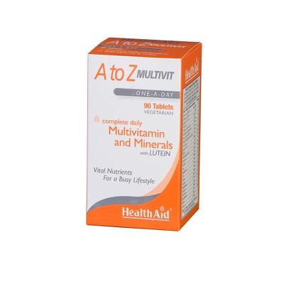 Health Aid - A To Z Multivit Lutein - 90tabs
