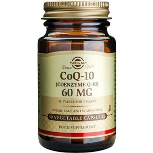 SOLGAR CoQ-10 60mg 30vegetable capsules
