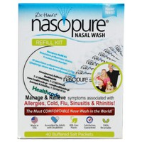 NASOPURE NASAL WASH REFILL KIT (40 ΦΑΚΕΛΑΚΙΑ)