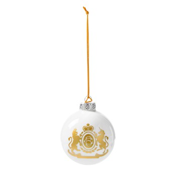 Christmas Ornament - White Ball
