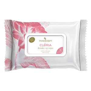 Cleria  ypoallergenic demakeup wipes 30pcs