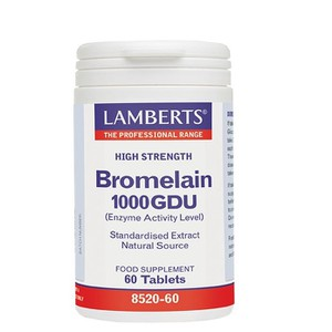 Bromelain 400mg 100gdu 60 caps enlarge
