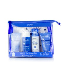 Uriage Σετ 1st Bebe Travel Kit - Βρεφικό Σετ Ταξιδίου, 4τμχ.