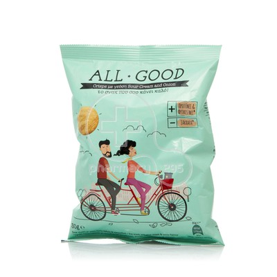 POWER HEALTH - ALL GOOD Crisps Sour Cream & Onion - 30gr