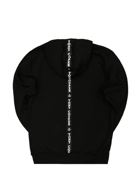 TONY COUPER BLACK GROSS BACK HOODIE
