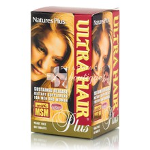 Natures Plus ULTRA HAIR PLUS - Μαλλιά, 60tabs