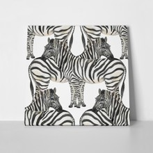 Watercolor painting zebra pattern 498246247 a
