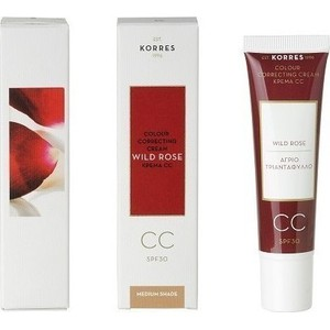 Korres wild rose cc cream medium