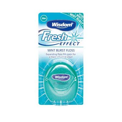 Wisdom - Fresh Effect Mint Burst Floss - 30m
