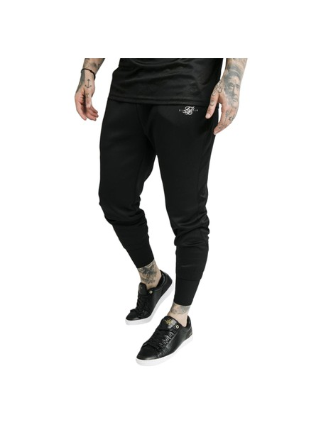 SikSilk Tranquil Dual Cuff Pants - Black & Grey