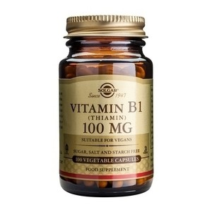 Solgar vitamin b1  100mg