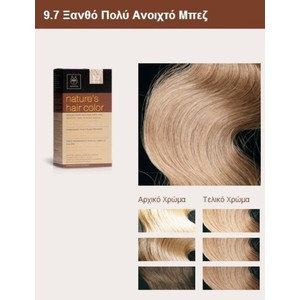 Apivita nature s hair color 9.7