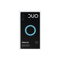 Duo Premium Natural Condoms 6τμχ