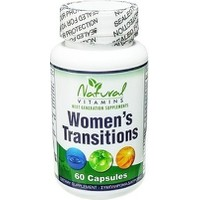 NATURAL VITAMINS WOMEN'S TRANSITIONS 60 CAPS