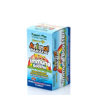 NATURE'S PLUS - SOURCE OF LIFE ANIMAL PARADE Immune Booster (Tropical flavor) - 90chew.tabs