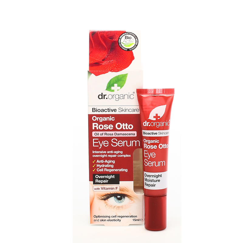 Organic Rose Otto Eye Serum