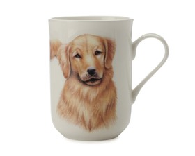 "Maxwell & Williams Κούπα ""Golden Retriever-Κατοικίδια Σκυλιά"" 300ml. Cashmere Bone China"
