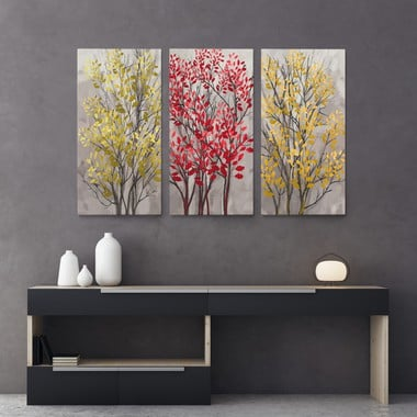 Modern abstract trees