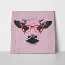 Portrait cow glasses 476373349 a