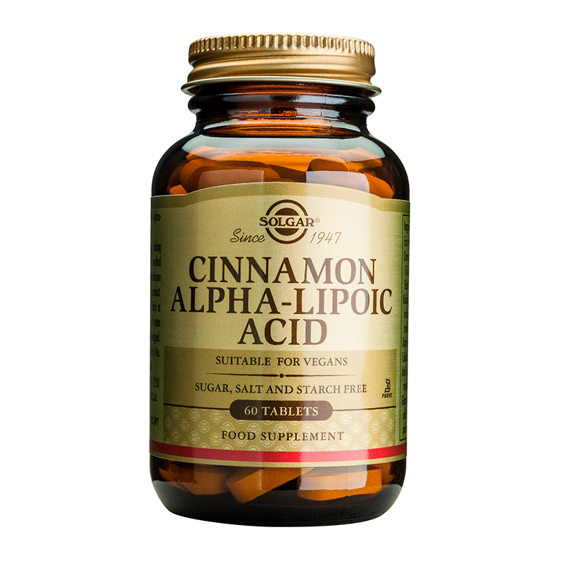 Cinnamon -Alpha Lipoic Acid tablets