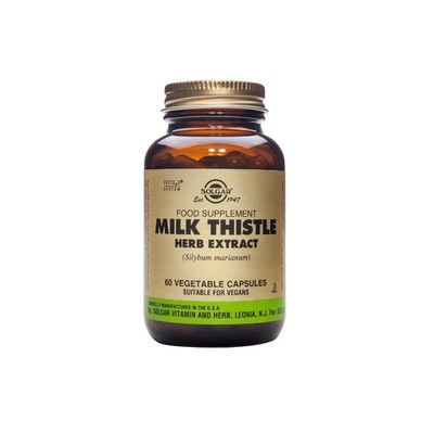 Solgar - SFP Milk Thistle Herb & Seed Extract - 60caps