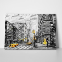 New york painting a