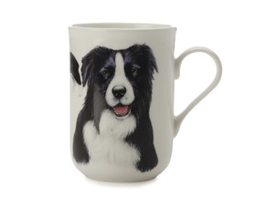 "Maxwell & Williams Κούπα ""Border Collie-Κατοικίδια Σκυλιά"" 300ml. Cashmere Bone China"