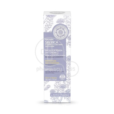 NATURA SIBERICA - RHODIOLA ROSEA Day Cream SPF20 - 50ml