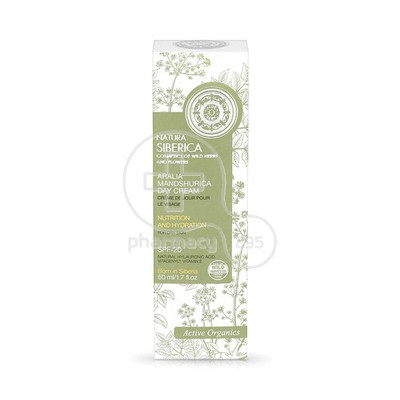 NATURA SIBERICA - ARALIA MANDSHURICA Day Cream SPF20 - 50ml PS