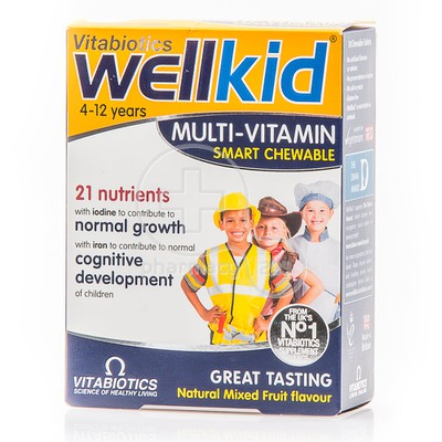 VITABIOTICS - WELLKID Multi Vitamin - 30chew.tabs