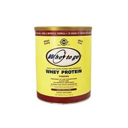 Solgar Whey To Go Protein Powder Natural Vanilla Flavor 907gr