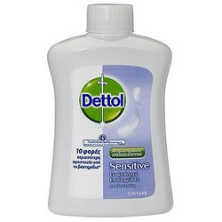 Dettol Antibacterial Hand Wash For Sensitive Skin With Glicerin - Replacement 250ml