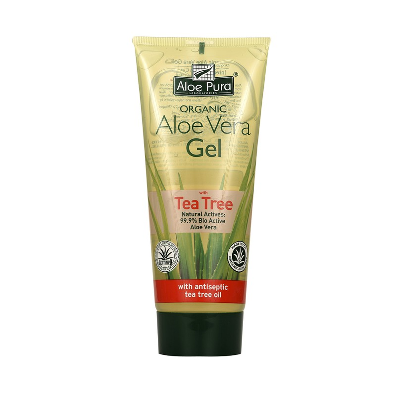 Organic Aloe Vera Gel with Tea Tree