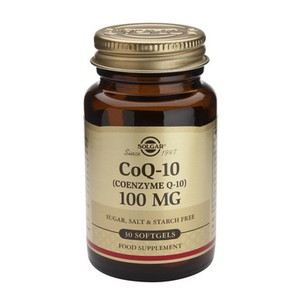 SOLGAR CoQ-10 100mg 30softgels