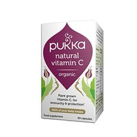 PUKKA NATURAL VITAMIN C 60CAPS