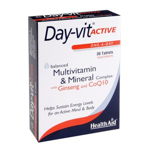 HEALTH AID Day-vit active 30tabs