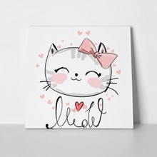 Cute cat sketch 705098644 a