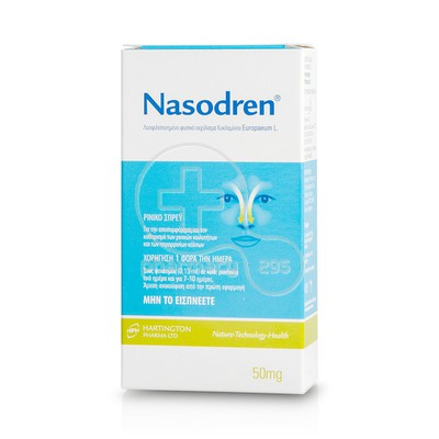 PHARMA Q - NASODREN Nasal Spray - 50mg