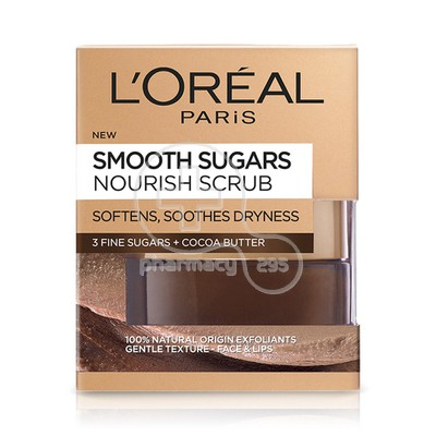 L'OREAL PARIS - SMOOTH SUGARS Nourish Scrub - 50ml
