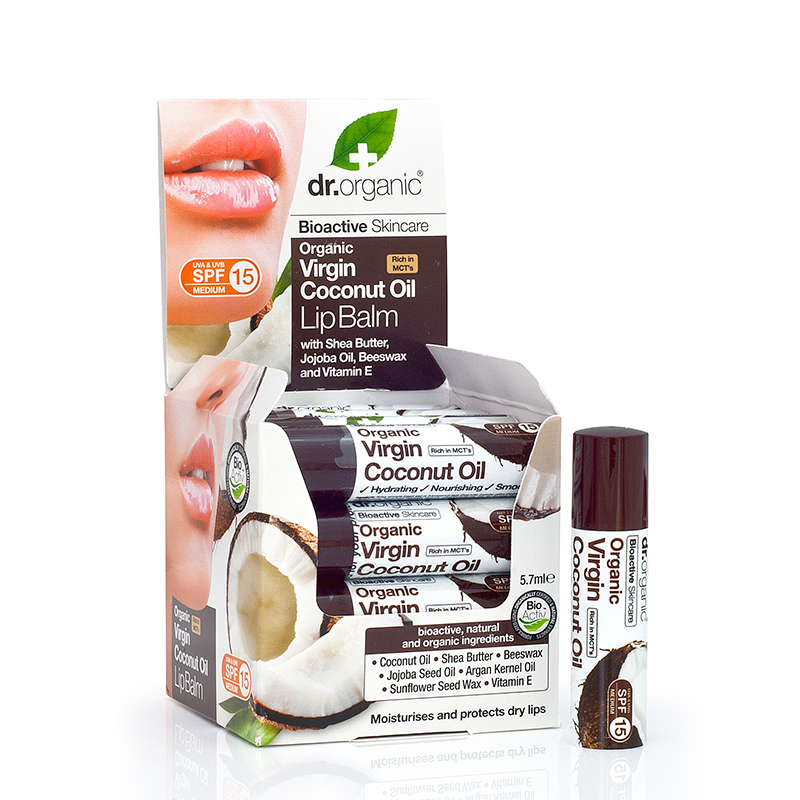 Organic Virgin Coconut Oil Lip Balm