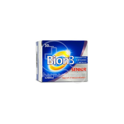 MERCK - BION 3 Senior - 30tabs