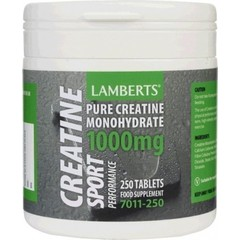 Lamberts Creatine 1000mg, 250Tabs