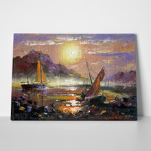 Dark sea landscape oil painting 22759612 a