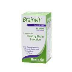 Health Aid Brainvit 60 ταμπλέτες