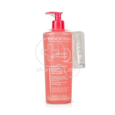 BIODERMA - SENSIBIO Gel Moussant - 500ml