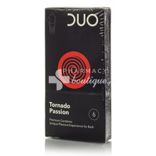 Duo Tornado Passion - Προφυλακτικά, 6τμχ