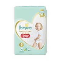 PAMPERS - PREMIUM CARE Pants No6 (15+ kg) - 42τμχ
