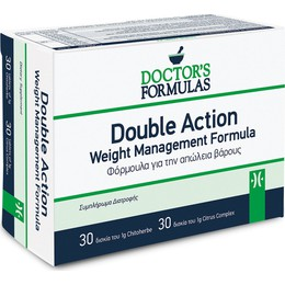 Doctor's Formulas Double Action 60tabs - φόρμουλα αδυνατίσματος